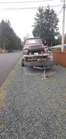 Photo 55 Chevy PU - $1 (Burlington)