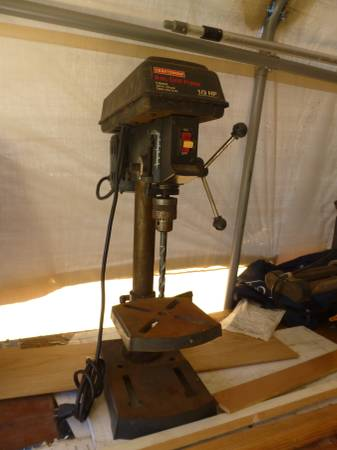 Photo Craftsman 5 speed Drill Press - $80 (Anacortes)