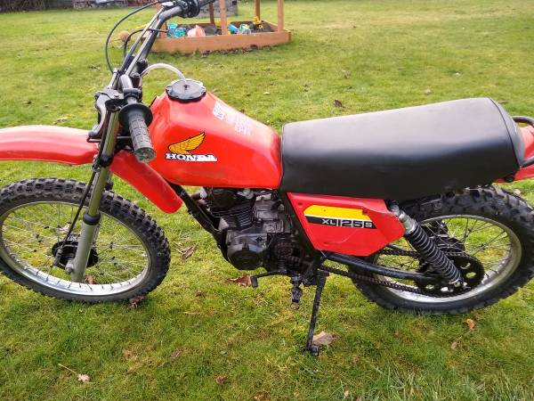 Photo Honda XL 125 S Dirt bike - $1,000 (Sedro Woolley)