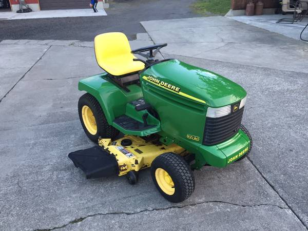 Photo John Deere Lawn Tractor Service - $50 (Oak Harbor)