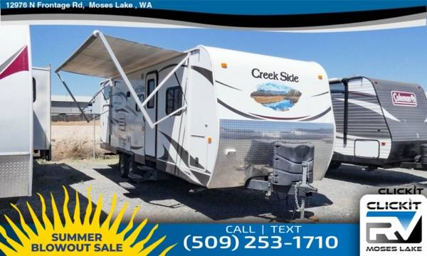 Photo MOSES LAKES 1 RV DEALERSHIP JUST CLICKIT 2013 OUTDOORS RV Creek Side - $25,900