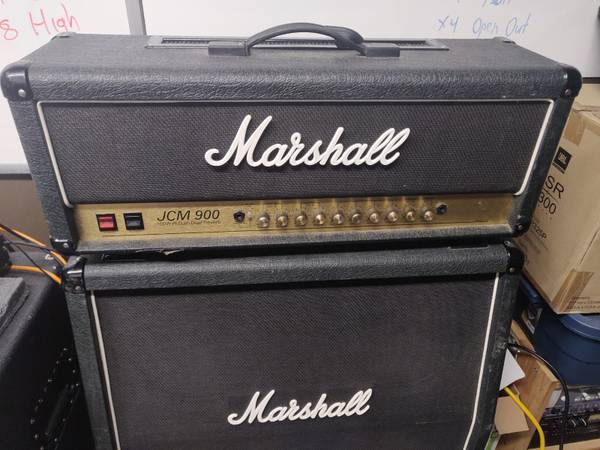 Photo Marshall JCM 900 100W Dual Reverb Model 4100 - $650 (Bellingham)