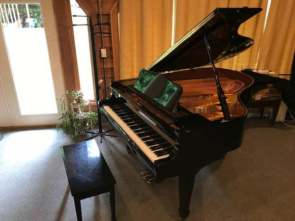Photo Nakamura N185 c. 1999 6391quot Used Grand Piano - $7250 ((Fandrich and Sons Pianos))