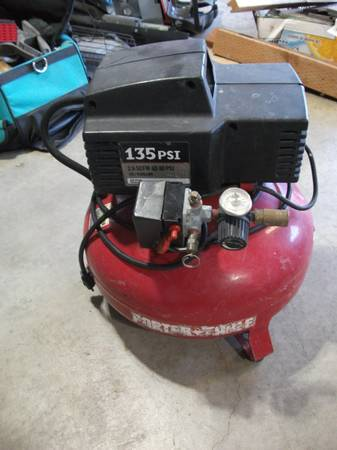 Photo Porter-Cable Air Compressor - $35 (Burlington)