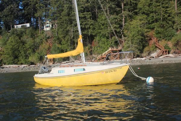 Photo San Juan 21 Mark 2 Sailboat - $3,300 (Coupeville)