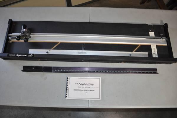 Photo Supreme Mat Cutter Model 600 by Logan - $250 (burlington)