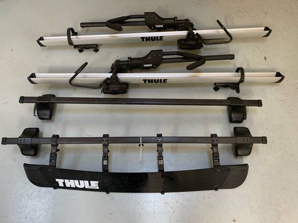 Photo Thule Bike Roof Rack System - $400 (Coupeville)