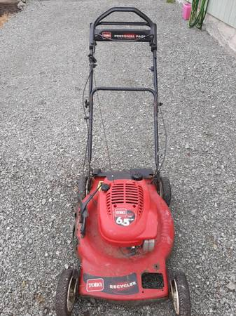 Photo Toro 22quot6.5 H.P. Personal Pace 2 Mower (used) - $50 (S. Mount Vernon)