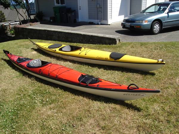 Photo Ultralite Fiberglass 16ft Kayak with Comfy Seat (Two Kayaks Available) - $1,795 (Anacortes)