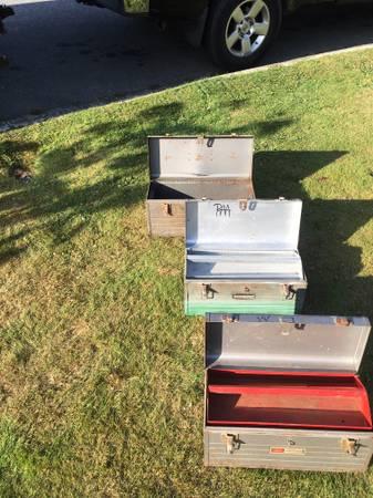 Photo Vintage craftsman tool boxes - $30 (ANACORTES)
