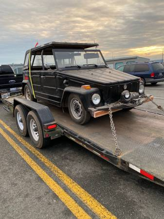 Photo Vw thing rare Volkswagen barn find - $13,500 (Las Vegas)
