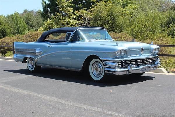 Photo 1958 Buick Roadmaster - $95000 (San Luis Obispo)