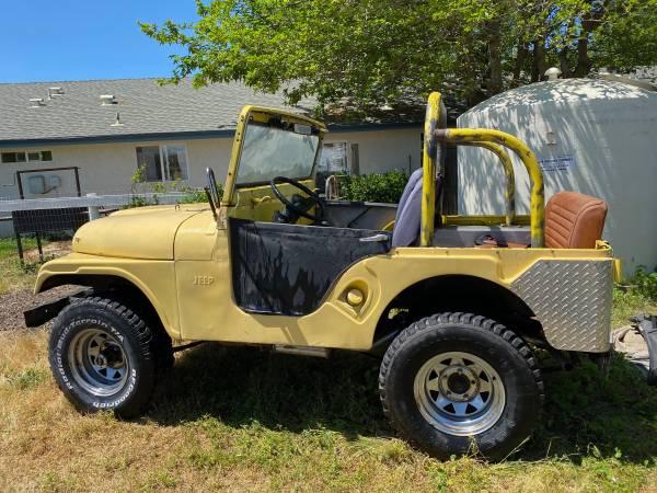Photo 1963 Jeep CJ5 - $5500 (Atascadero)