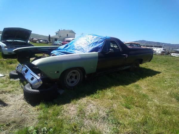 Photo 1969 Chevrolet El Caminomalibu - $2,500