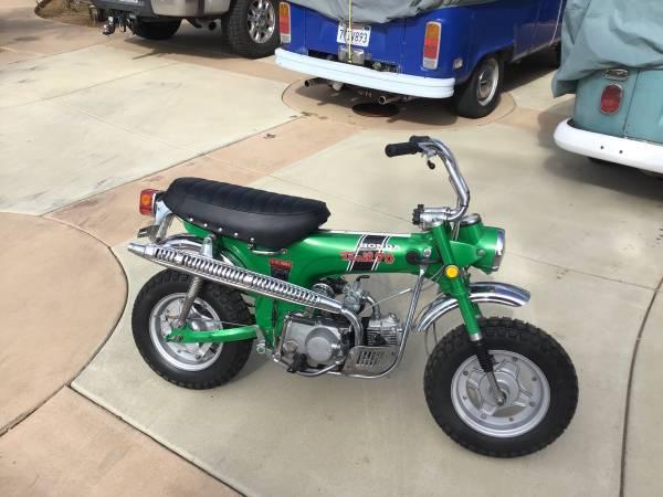 Photo 1970 Honda Ct70 4 speed H Model Mini Trail - $3800 (Cambria)