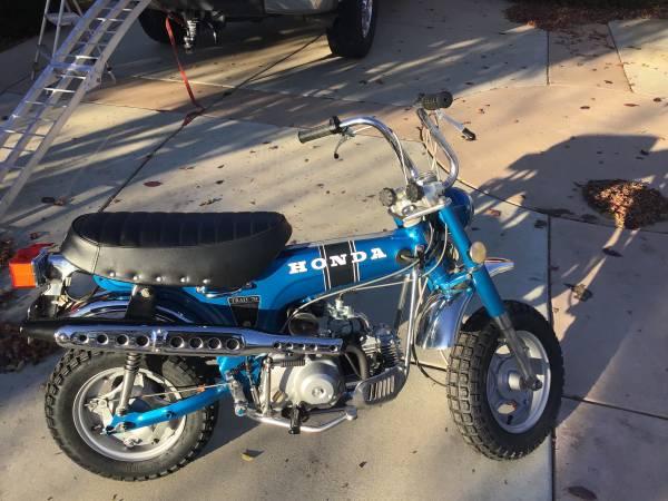 Photo 1971 Honda Ct70 Mini Trail - $2800 (Cambria)