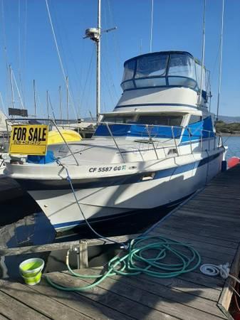 Photo 1978 Unofied Sport Fisher Boat - $1 (Morro bay)
