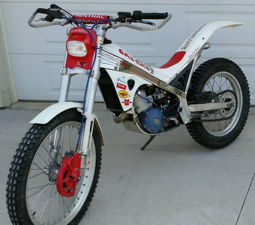 Photo 1992 Gas Gas Contact 32 TRIALS MOTORCYCLE - $1,500 (CRESTON)