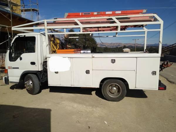 Photo 1995 gmc w4 forward utility truck - $6,500 (Arroyo Grande)