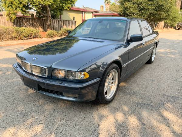 Photo 2001 BMW 740iL Wide Screen - $9,800 (San Luis Obispo)
