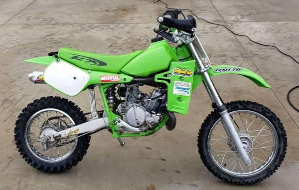 Photo 2001 KX60 Green Sticker FMF Spark Arrestor - $950 (Arroyo Grande)