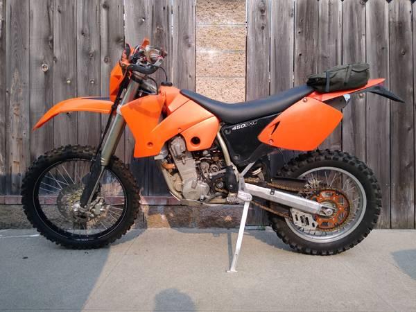 Photo 2003 KTM 450 EXC - $3,300 (Arroyo Grande)