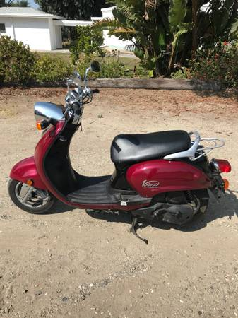 Photo 2005 Yamaha vino 125 - $1,400 (Arroyo grande)