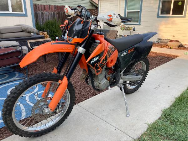 Photo 2006 KTM 450 EXC - $2,900 (Paso Robles)