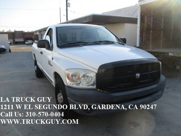 Photo 2008 DODGE RAM 2500 PICKUP UTILITY WORK TRUCK 5.7 L HEMI GAS - $5000 (gardena)