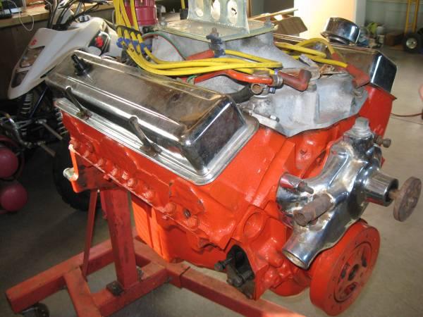 Photo 327 ci Engine and Powerglide trans and parts original to a 68 Camaro - $2,500 (Atascadero)