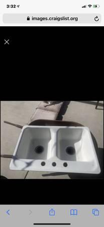 Photo American standard cast iron sink - $25 (SLO)