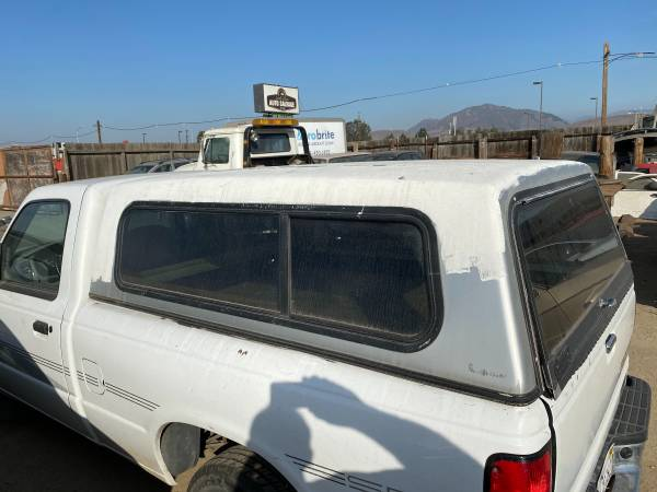 Photo CAMPER SHELL SHORT BED PICKUP - $250 (SLO)