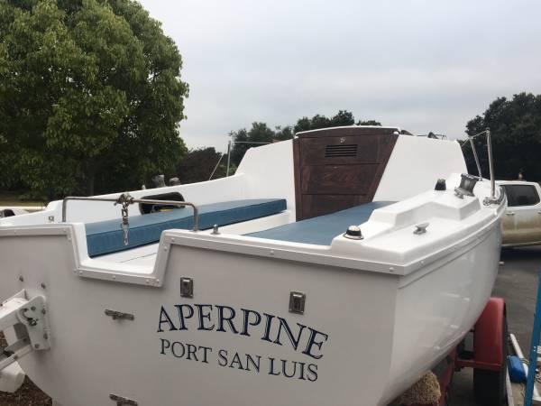 Photo Catalina 22 swing keel with trailer - $3500 (Arroyo grande)