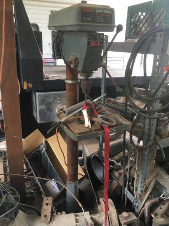 Photo Craftsman Stand up drill press and table models - $195 (Atascadero)