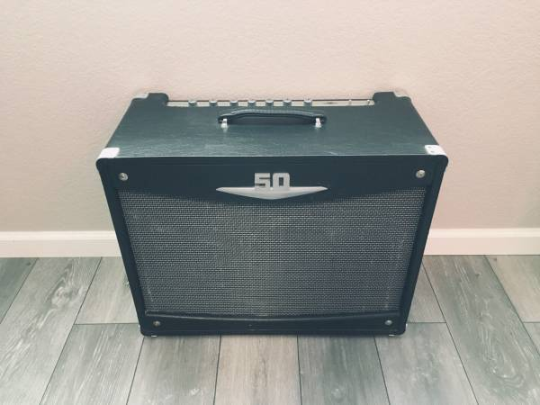 Photo Crate V Series V50-112 50W Tube Guitar Combo Amp  Amplifier Stand - $275 (Atascadero)