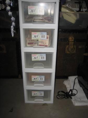 Photo Drawers Tower Storage Drawer - $5 (San Luis Obispo)