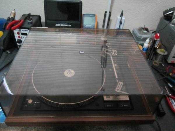 Photo Dual CS-1237 Fully Automatic turntable - $225 (Paso Robles)