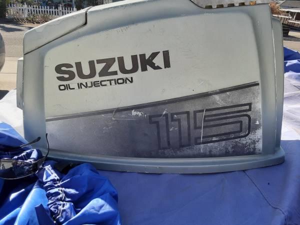 Photo FREE 1987 SUZUKI DT115 OUTBOARD MOTOR HOOD