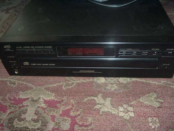 Photo JVC Compact Disc Automatic Changer - $40 (Atascadero)