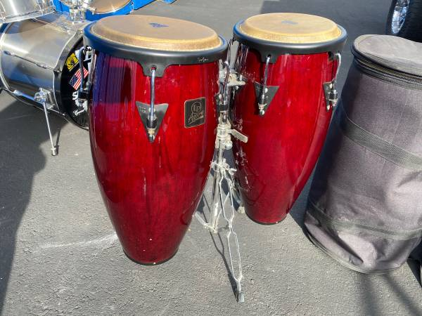 Photo Lp aspire conga set with cases - $425 (Templeton)