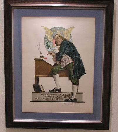 Photo Norman Rockwell Signed Lithographs - $5,500 (San Luis Obispo)