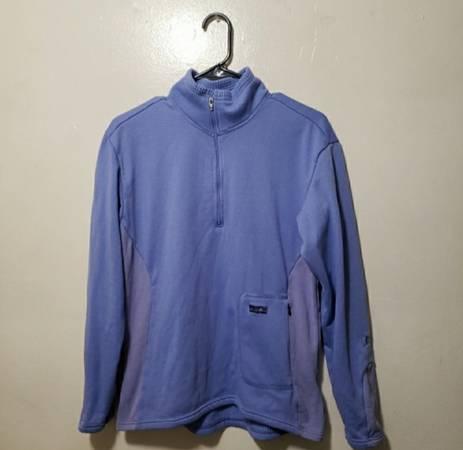 Photo Patagonia Womens blue purple quarter zip Jacket size medium - $60 (san luis obispo)