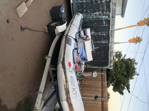 Photo Project Zodiac Inflatable Boat - $1,400 (Morro Bay)
