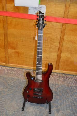 Photo Schecter Diamond Series 007 Elite Left Hand 7 String Guitar - $300 (Atascadero)