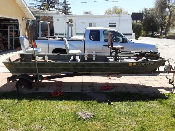 Photo Sea king 14ft aluminum jon boat - $1000 (Atascadero)