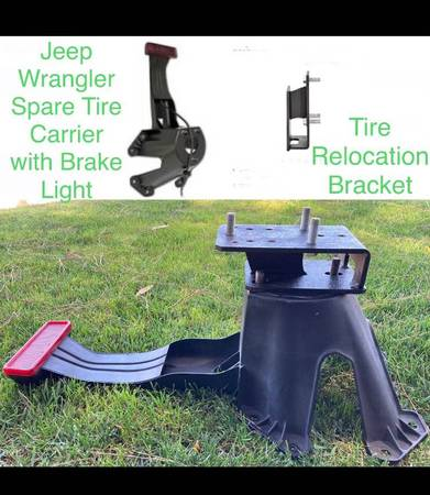 Photo Spare Tire Carrier Unit wBrake Light. - $100 (San Luis Obispo)