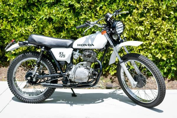 Photo Street Legal 1976 Honda XL 125 - $3,200 (San Luis Obispo)