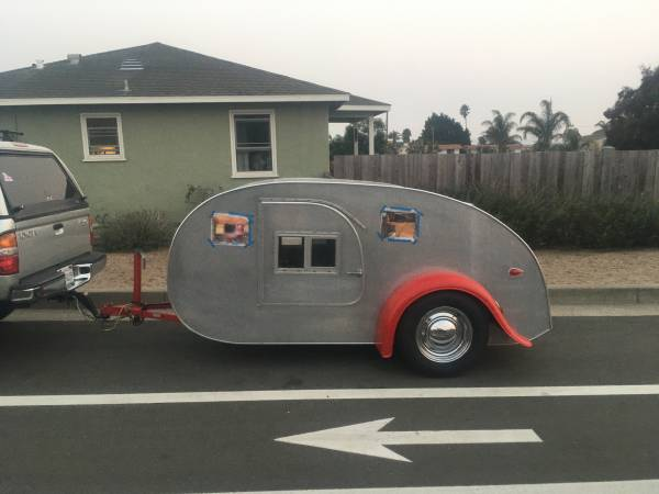 Photo Teardrop trailer - $6,000 (Grover beach)