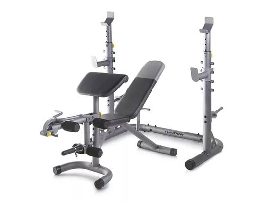 Photo Weider XRS 20 Adjustable Olympic Workout Bench with Squat Rack - $300 (San Luis Obispo)