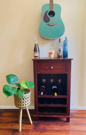 Photo Wine  Liquor Storage Cabinet - $65 (San Luis Obispo)